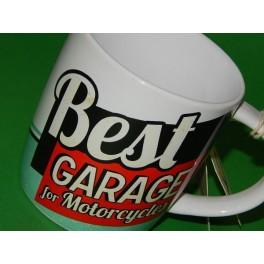 TAZA VINTAGE BEST GARAGE