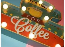 CUADRO LED COFFEE