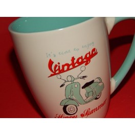 TAZA SCOOTER VINTAGE