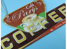PLACA VINTAGE COFFEE