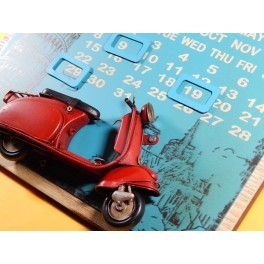 CALENDARIO PERPETUO SCOOTER VESPA
