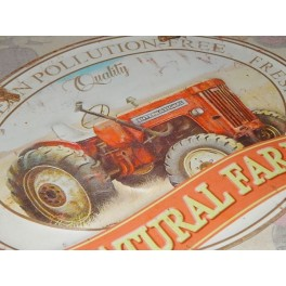 PLACA VINTAGE NATURAL FARM