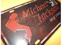 PLACA VINTAGE MICHAEL JACKSON