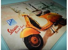 PLACA VINTAGE VESPA LONDON
