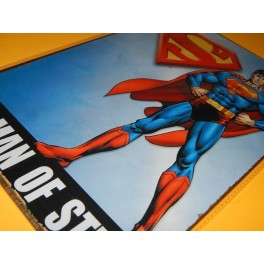 PLACA VINTAGE SUPERMAN