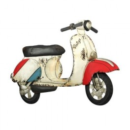 PLACA PARED SCOOTER