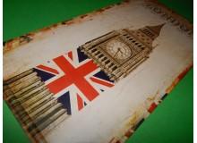 PLACA VINTAGE LONDON
