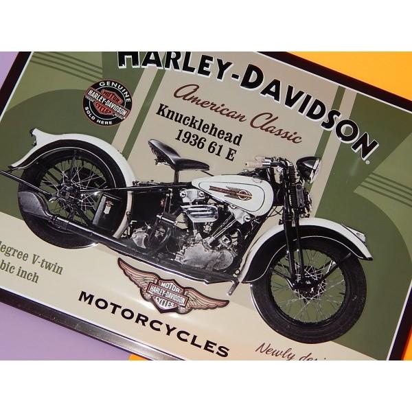 PLACA HARLEY DAVIDSON - La Tienda Vintage | Vintage economico