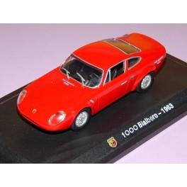 Coche Modelo ABARTH 1000 BIALBERO Vehiculo en miniatura de colección Vintage Automovil a escala