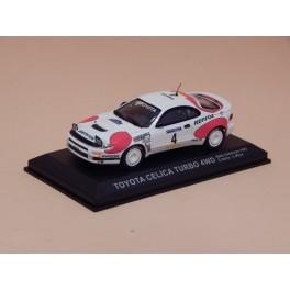 Coche Modelo TOYOTA CELICA TURBO Vehiculo en miniatura de colección Vintage Automovil a escala