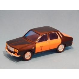 Coche Modelo RENAULT 12 TAXI Vehiculo en miniatura de colección Vintage Automovil a escala
