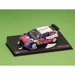 Coche Modelo CITROEN C4 WRC Vehiculo en miniatura de colección Vintage Automovil a escala