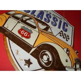 Cartel Chapa CITROEN 2CV Placa de decoración Vintage para pared de habitación, salón, bar, garage