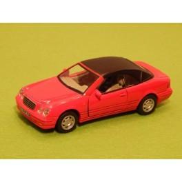 Coche Modelo MERCEDES BENZ CLK CABRIO Vehiculo en miniatura de colección Vintage Automovil a escala