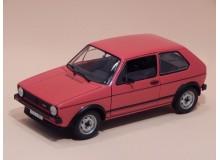 Coche Modelo VOLKSWAGEN GOLF GTI Vehiculo en miniatura de colección Vintage Automovil a escala