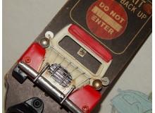 Cartel Chapa ABREBOTELLAS 2CV Placa de decoración Vintage para pared de habitación, salón, bar, garage