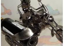 BOTELLERO VINTAGE MOTO CUSTOM