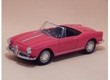 Coche Modelo ALFA ROMEO GIULIETTA SPIDER Vehiculo en miniatura de colección Vintage Automovil a escala