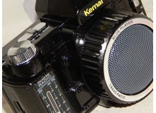 RADIO TRANSISTOR AM/FM DECORACION CAMARA DE FOTOS VINTAGE