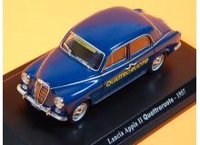 AUTOMOVIL VINTAGE EN MINIATURA A ESCALA MODELO LANCIA APPIA 1957