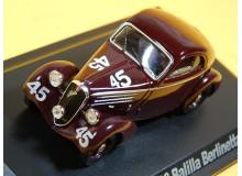 AUTOMOVIL VINTAGE EN MINIATURA A ESCALA MODELO FIAT 508 BALILLA 1936