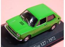 AUTO DE COLECCION VINTAGE EN MINIATURA A ESCALA MODELO FIAT 127 1972