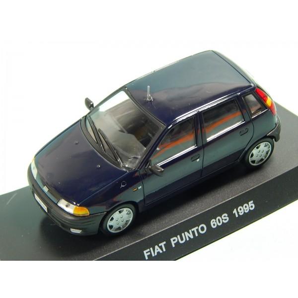 AUTO COLECCION VINTAGE MINIATURA A ESCALA MODELO FIAT PUNTO 1995