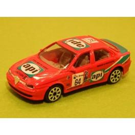 Coche Modelo ALFA ROMEO 156 RACING Vehiculo en miniatura de colección Vintage Automovil a escala