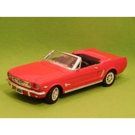 Coche Modelo FORD MUSTANG Vehiculo en miniatura de colección Vintage Automovil a escala