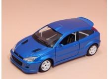 Coche Modelo FORD FOCUS RACING Vehiculo en miniatura de colección Vintage Automovil a escala