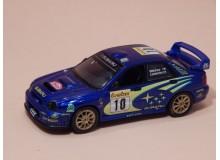 Coche Modelo SUBARU IMPREZA WRC Vehiculo en miniatura de colección Vintage Automovil a escala