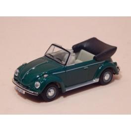 Coche Modelo VOLKSWAGEN ESCARABAJO CABRIO Vehiculo en miniatura de colección Vintage Automovil a escala