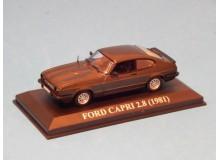 Coche Modelo FORD CAPRI Vehiculo en miniatura de colección Vintage Automovil a escala