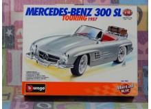 KIT MONTAJE MERCEDES BENZ 300 SL TOURING Maqueta para montar Vehiculo en miniatura de colección Vintage Automovil a escala 1:18