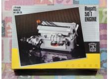 KIT MONTAJE MOTOR BUGATTI 50T Vehiculo en miniatura de colección Vintage Automovil a escala 1:8