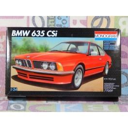 KIT MONTAJE BMW 635 CSI Maqueta para montar Vehiculo en miniatura de colección Vintage Automovil a escala 1:24