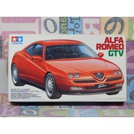 KIT MONTAJE ALFA ROMEO GTV Maqueta para montar Vehiculo en miniatura de colección Vintage Automovil a escala 1:24