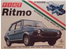 KIT MONTAJE FIAT RITMO Maqueta para montar Vehiculo en miniatura de colección Vintage Automovil a escala 1:48