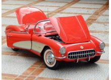 Coche Modelo CHEVROLET CORVETTE Vehiculo en miniatura de colección Vintage Automovil a escala 1:6