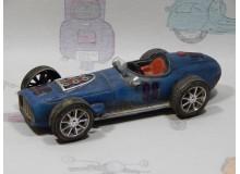 Coche Modelo COCHE DE CARRERAS EPOCA Vehiculo en miniatura de colección Vintage Automovil a escala