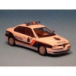 Coche Modelo ALFA ROMEO 156 POLICIA Vehiculo en miniatura de colección Vintage Automovil a escala