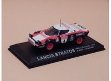 Coche Modelo LANCIA STRATOS Vehiculo en miniatura de colección Vintage Automovil a escala