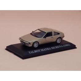 Coche Modelo TALBOT MATRA MURENA Vehiculo en miniatura de colección Vintage Automovil a escala