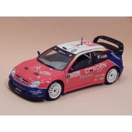 Coche Modelo CITROEN XSARA WRC Vehiculo en miniatura de colección Vintage Automovil a escala