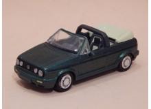 Coche Modelo VOLKSWAGEN GOLF CABRIOLET Vehiculo en miniatura de colección Vintage Automovil a escala