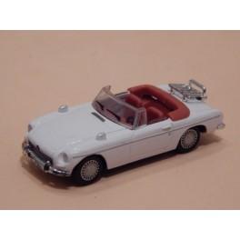 Coche Modelo MGB CABRIOLET Vehiculo en miniatura de colección Vintage Automovil a escala