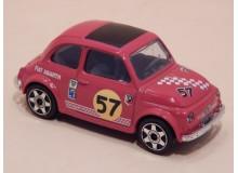 Coche Modelo FIAT 500 ABARTH Vehiculo en miniatura de colección Vintage Automovil a escala