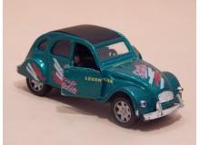 Coche Modelo CITROEN 2 CV Vehiculo en miniatura de colección Vintage Automovil a escala