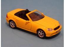 Coche Modelo MERCEDES BENZ SLK Vehiculo en miniatura de colección Vintage Automovil a escala