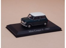 Coche Modelo MINI COOPER S Vehiculo en miniatura de colección Vintage Automovil a escala